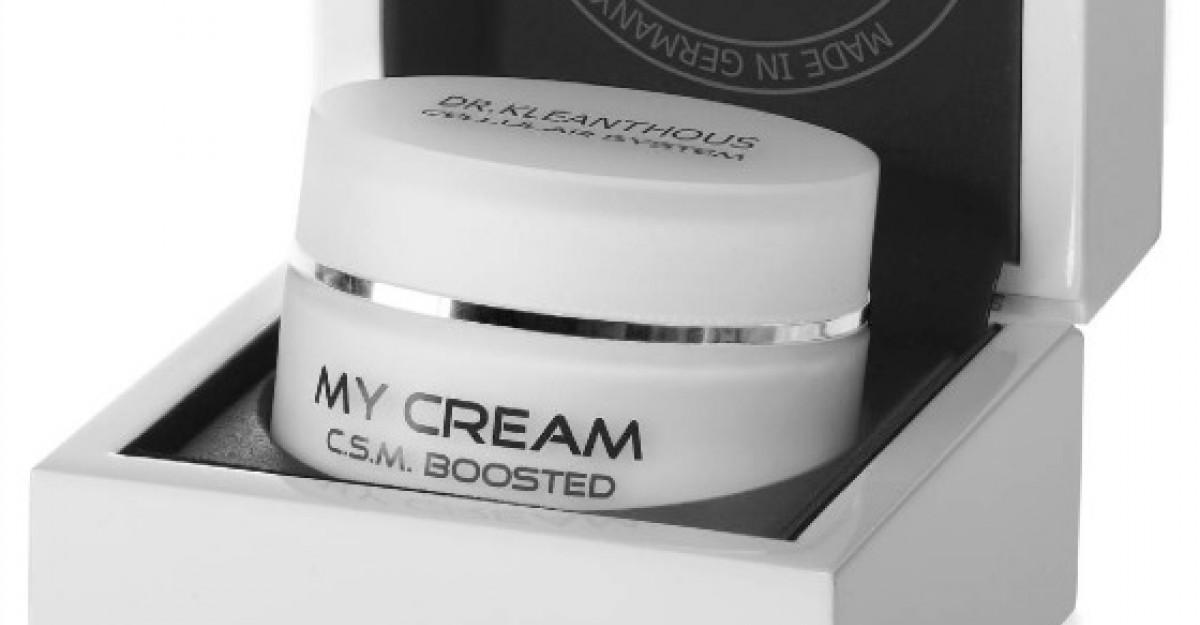My Cream de la Dr. Kleanthous, un produs de ingrijire zilnica 100% personalizat