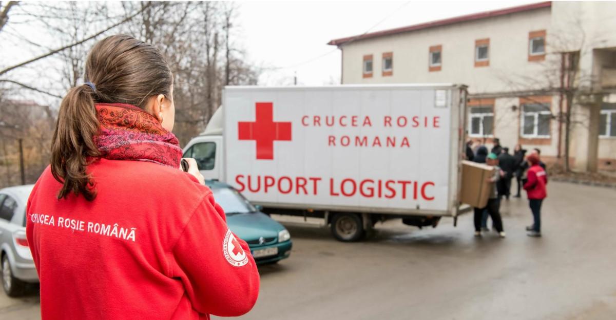 128 de pătuțuri noi și 10.450 de lenjerii de pat donate din partea Crucii Roșii Române, P&G și PROFI