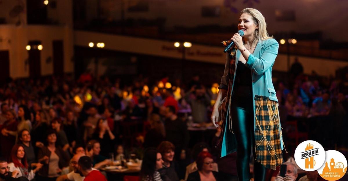 Mirela Vaida și Zaza Band au concertat pentru prima dată pe scena Berăriei H.