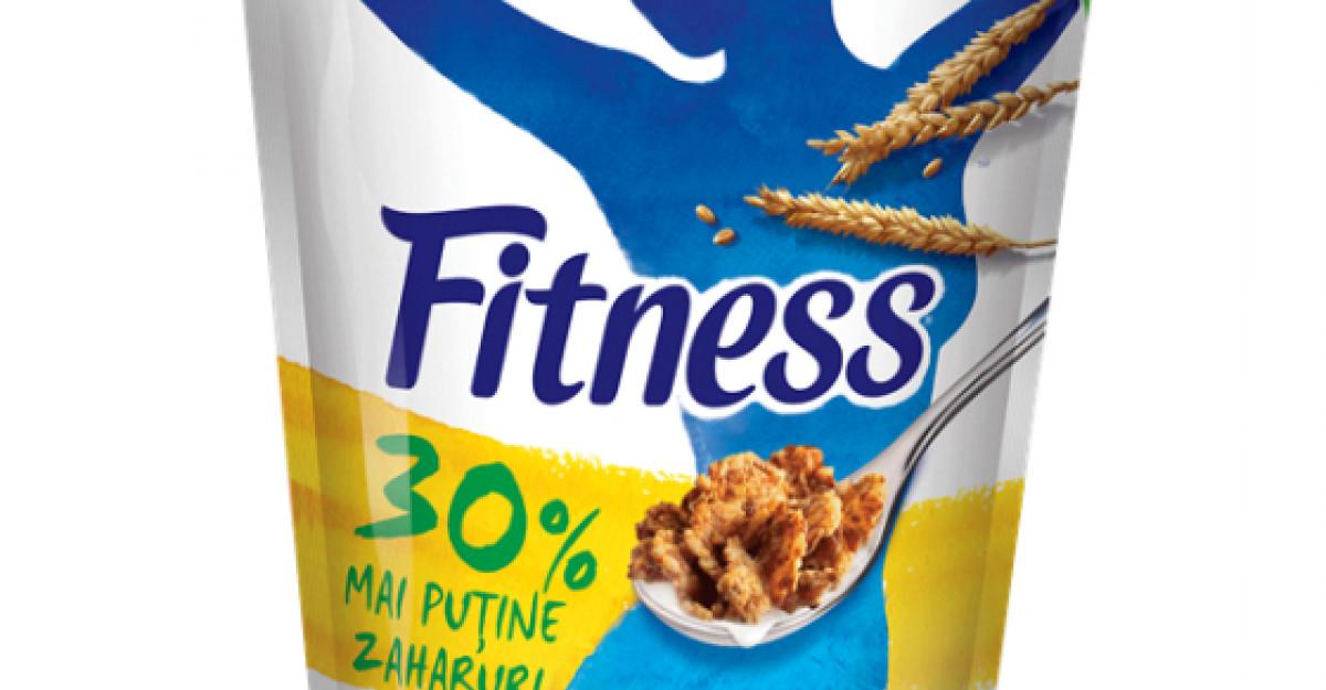 Nestle reduce continutul de zaharuri din FITNESS Original cu 30%