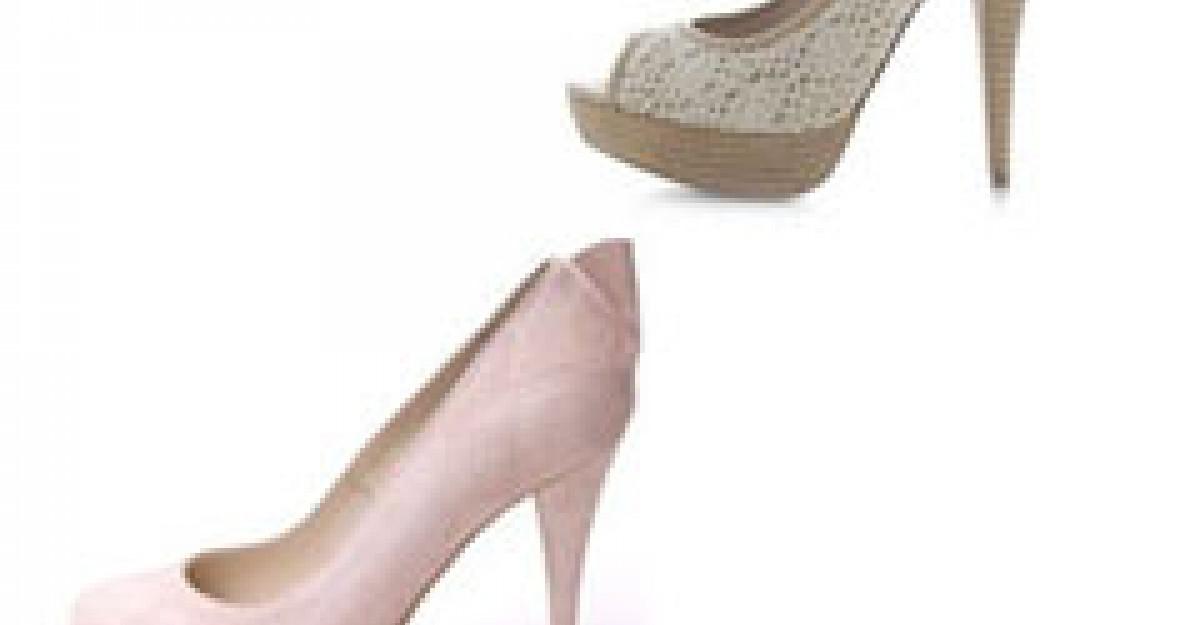 Pantofi ultraeleganti pentru nunta si cununia civila
