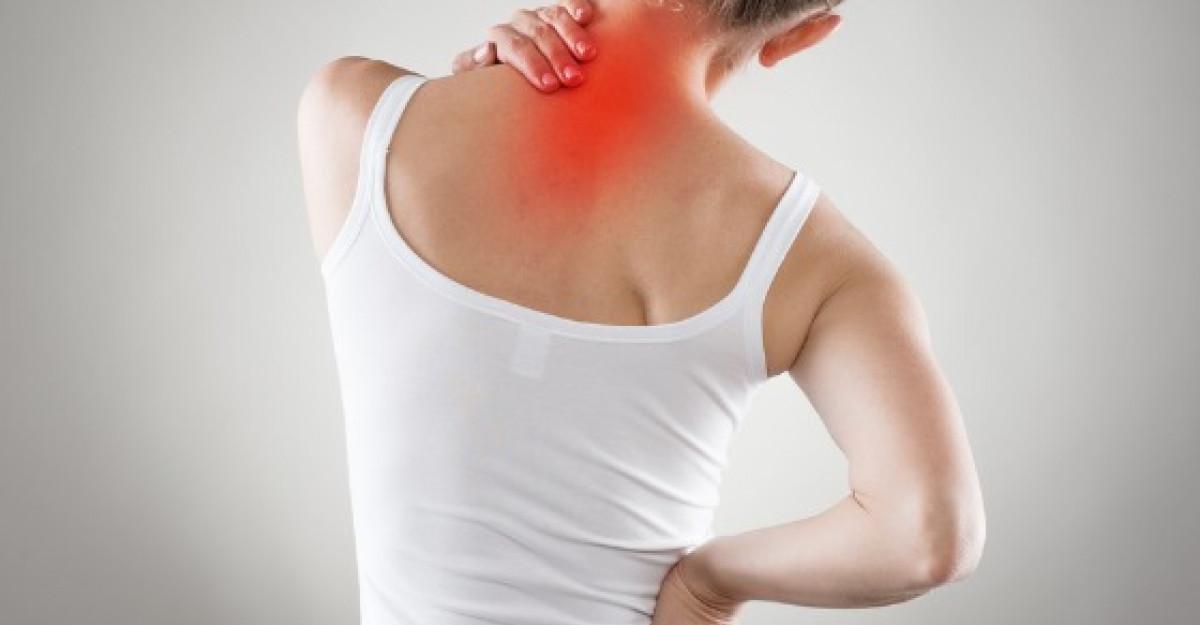 Remedii pentru dureri de spate