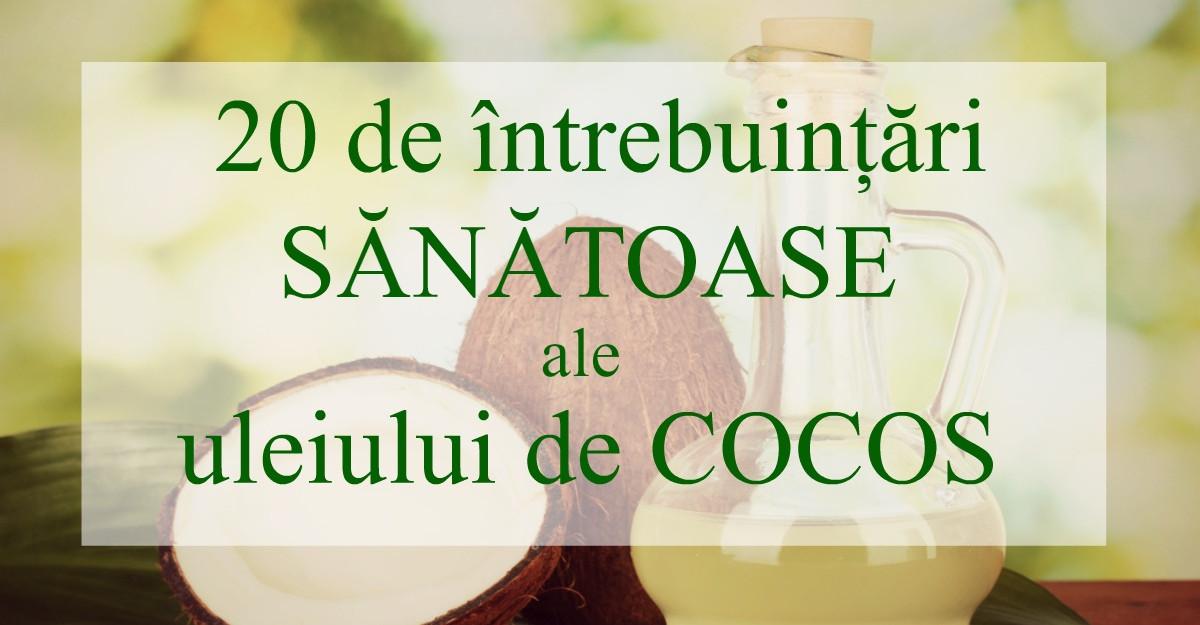 Le stiai? 20 de intrebuintari SANATOASE ale uleiului de COCOS
