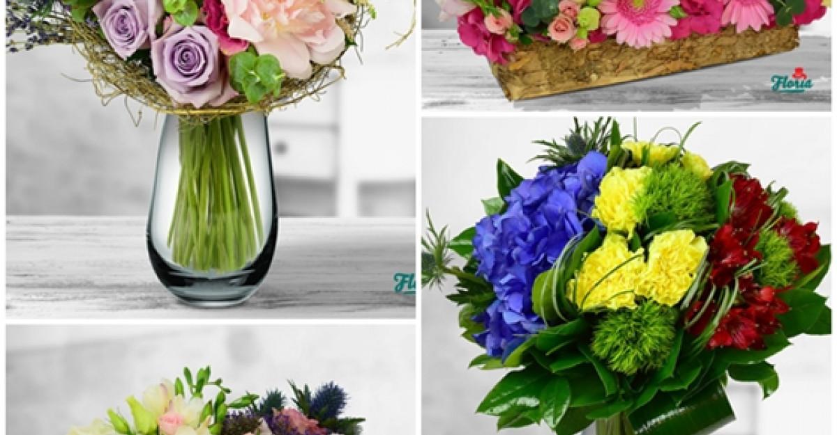 Vara aceasta este natural sa transmiti emotii in buchete de flori!