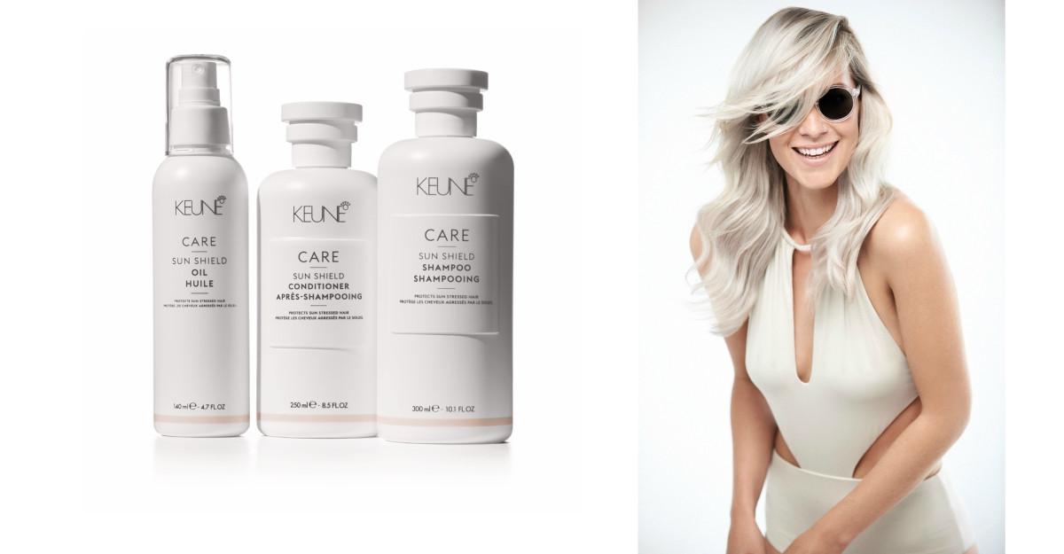 Sun Shield oferă îngrijire personalizată pentru părul tău, în anotimpul cald!