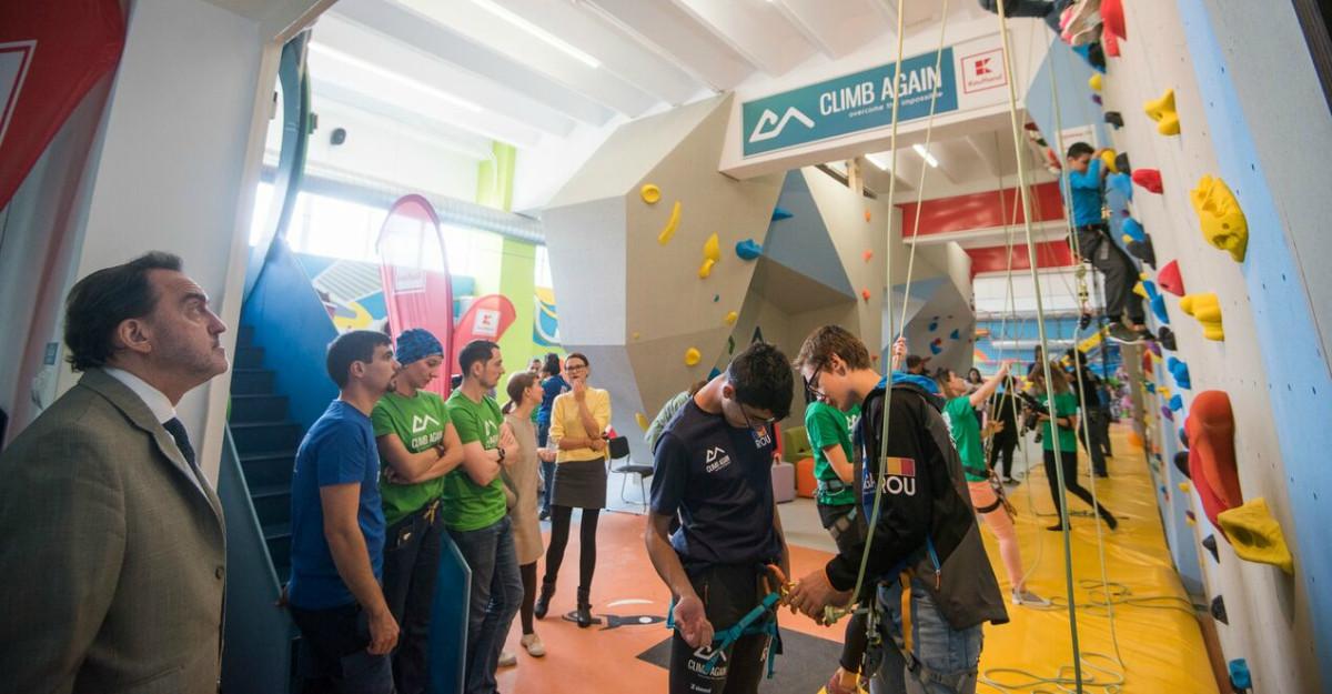 Kaufland și Asociația Climb Again deschid primul centru de terapie prin sport pentru copiii cu nevoi speciale