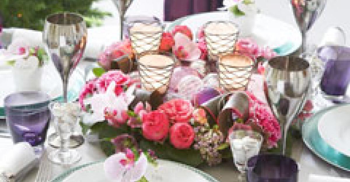 5 accesorii de care ai nevoie pentru o masa de Revelion spectaculoasa