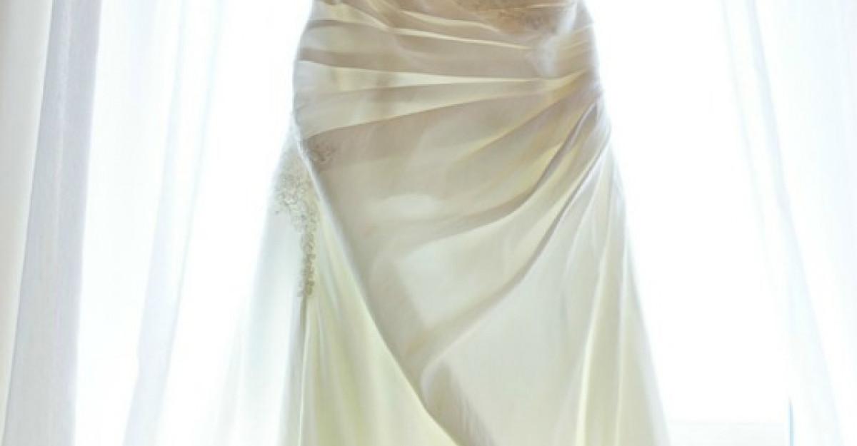 5 greseli pe care le faci dupa nunta in legatura cu rochia de mireasa