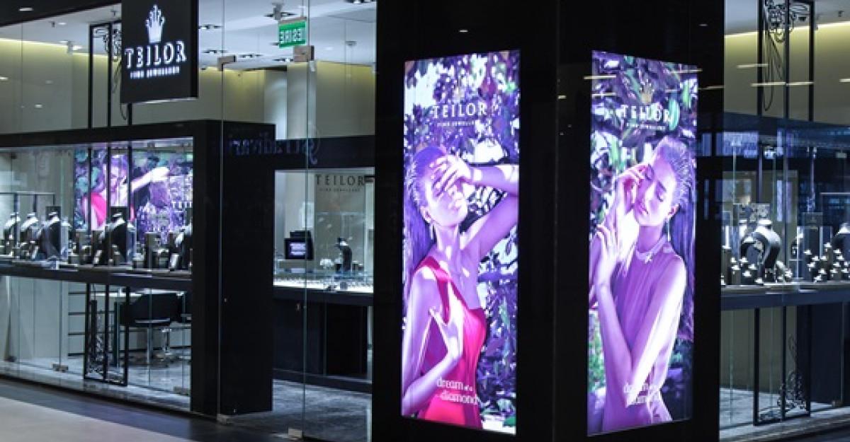 O noua locatie Teilor in Promenada Mall: Povesti cu diamante si pietre pretioase
