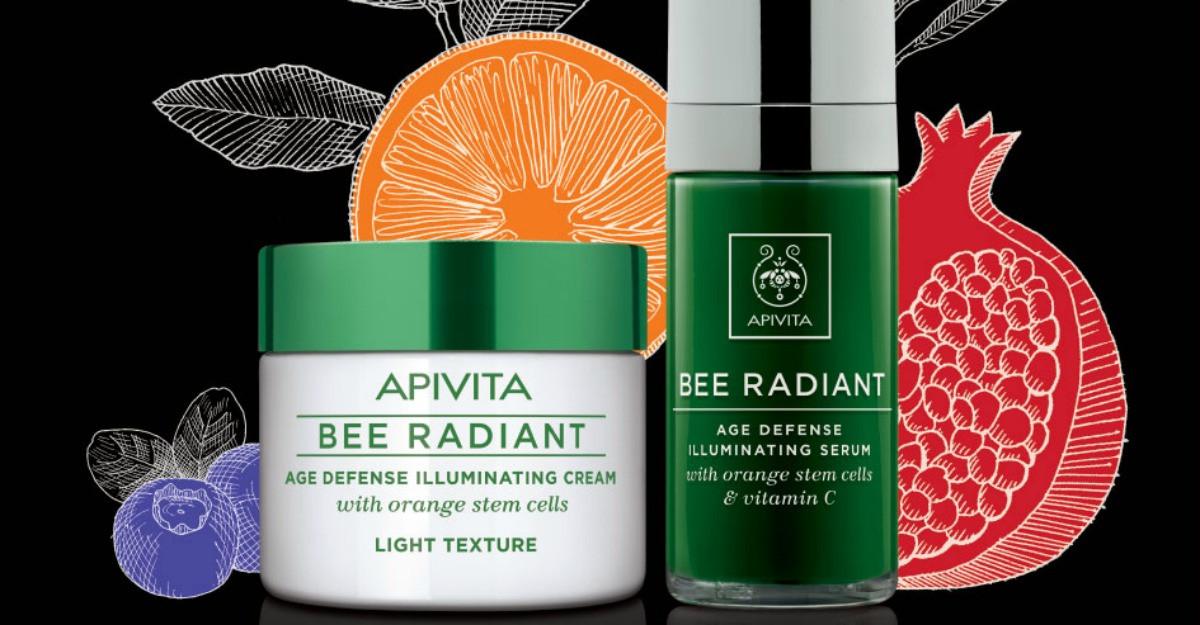 Ten luminos si ingrijire holistica cu noul ser iluminator anti-imbatranire BEE RADIANT