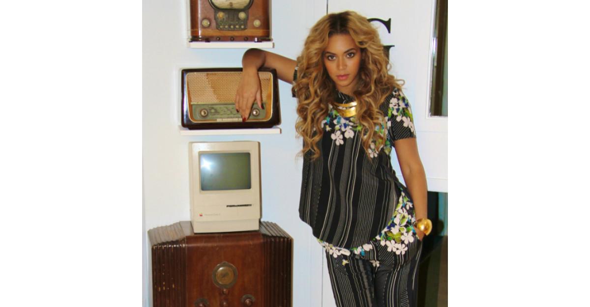 Fiica lui Beyonce, deja o diva. Cea mai draguta imagine cu ea!