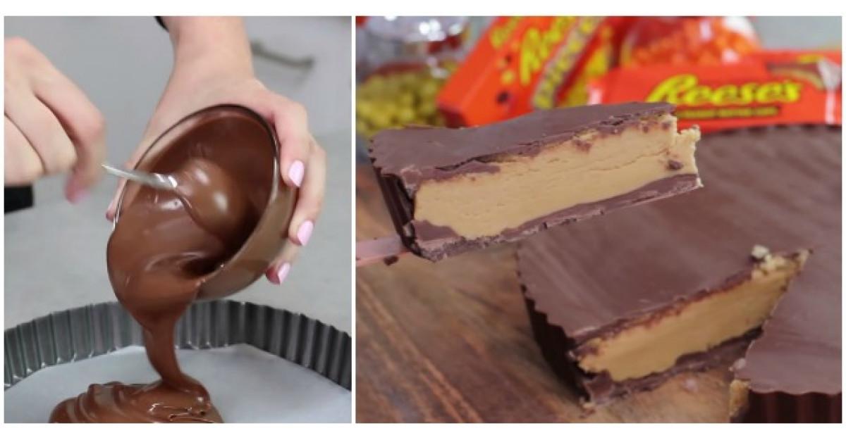 Video: Adauga ciocolata topita intr-o tava de tarta. 5 MINUTE mai tarziu? DELICIOS