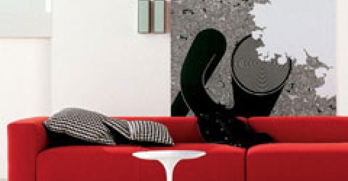 Culoarea rosie: 27 de piese de mobilier