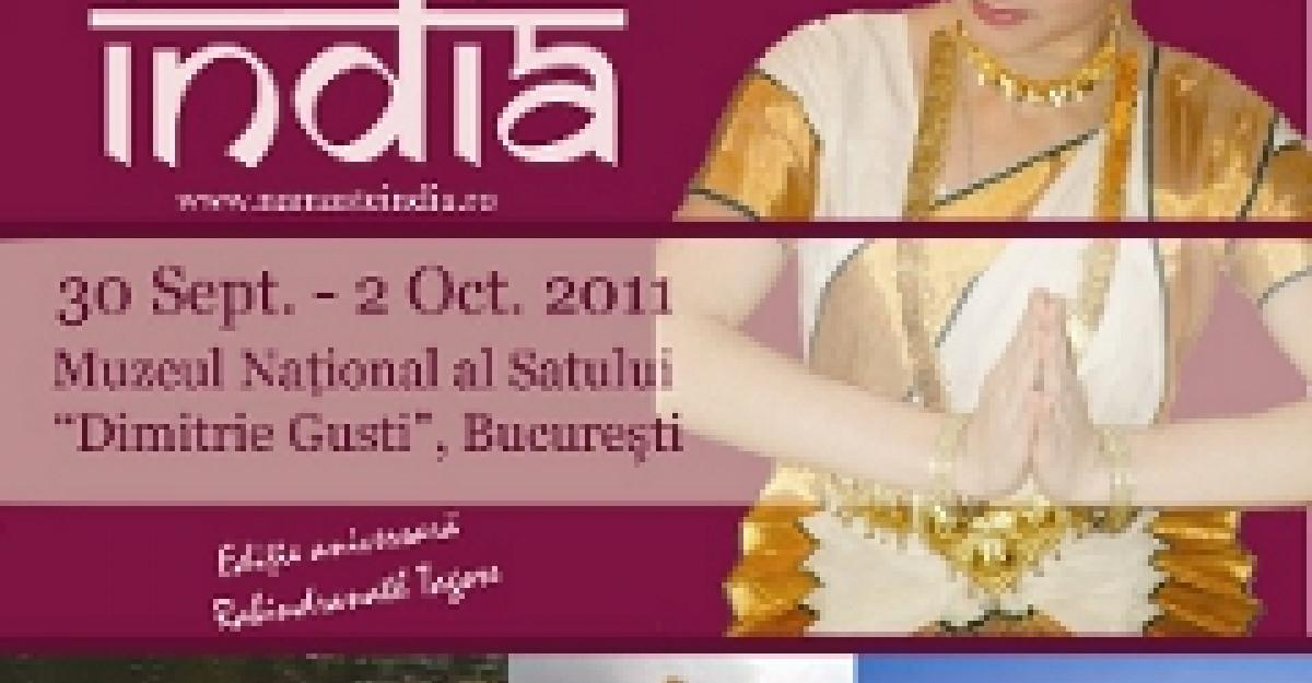 Festivalul Namaste India, editia a III-a, la Muzeul Satului