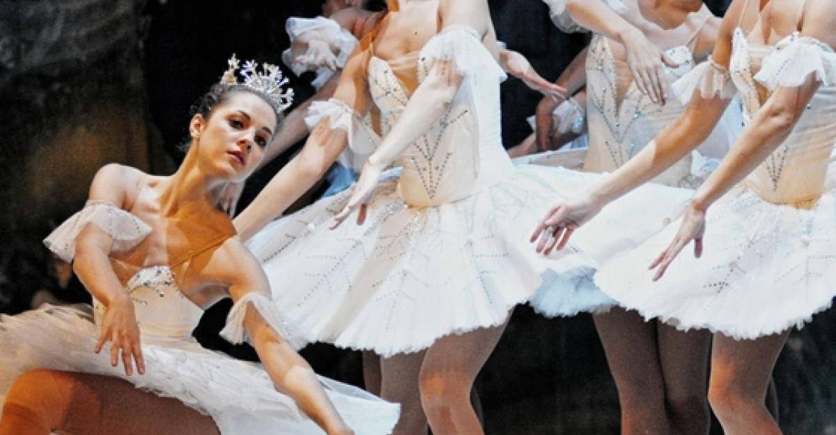 Balet pe gheata, cadoul perfect pentru Sarbatorile de Iarna