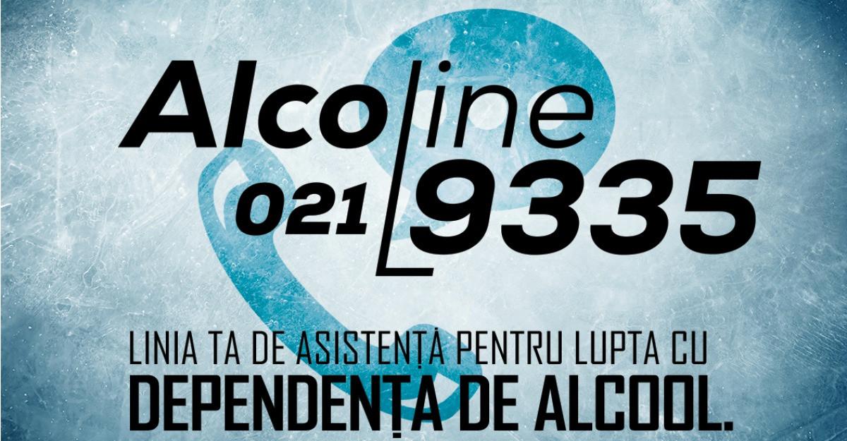 AlcoLine 021.9335 – Prima linie de asistenta pentru lupta cu dependenta de alcool