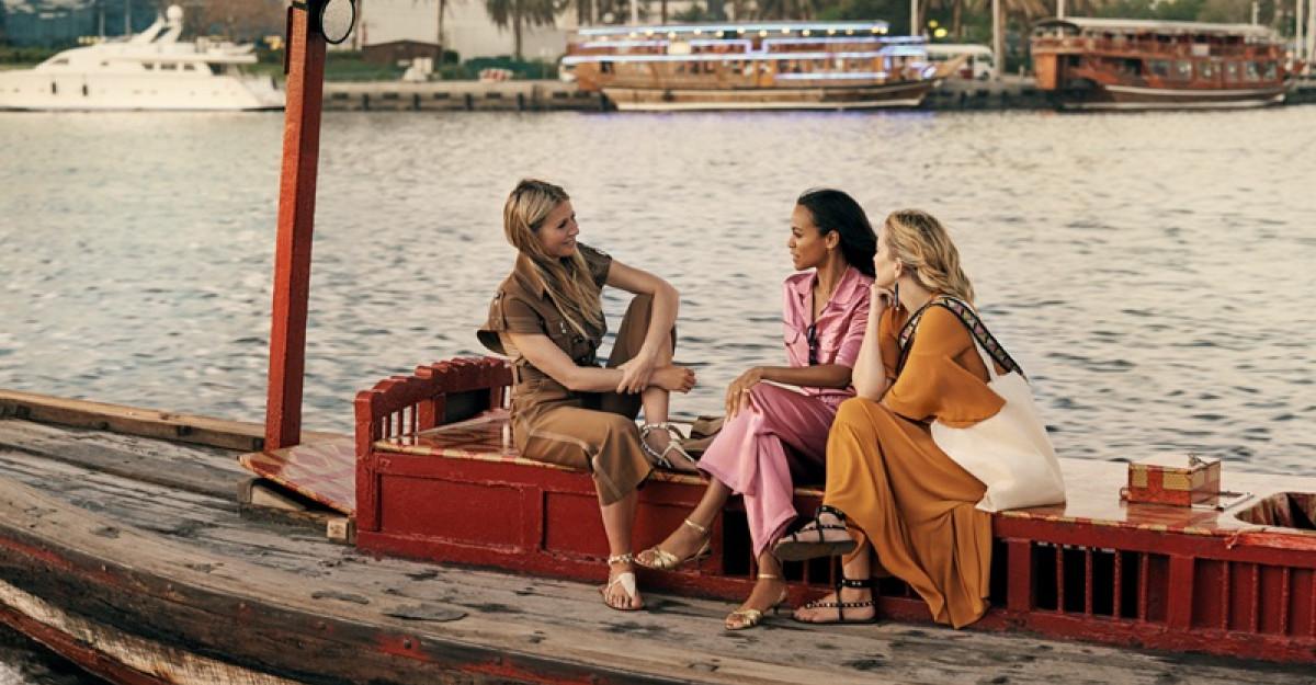 Gwyneth Paltrow, Kate Hudson ȘI Zoe Saldana JOACĂ ÎN PRODUCȚIA Dubai: 'A story takes flight'