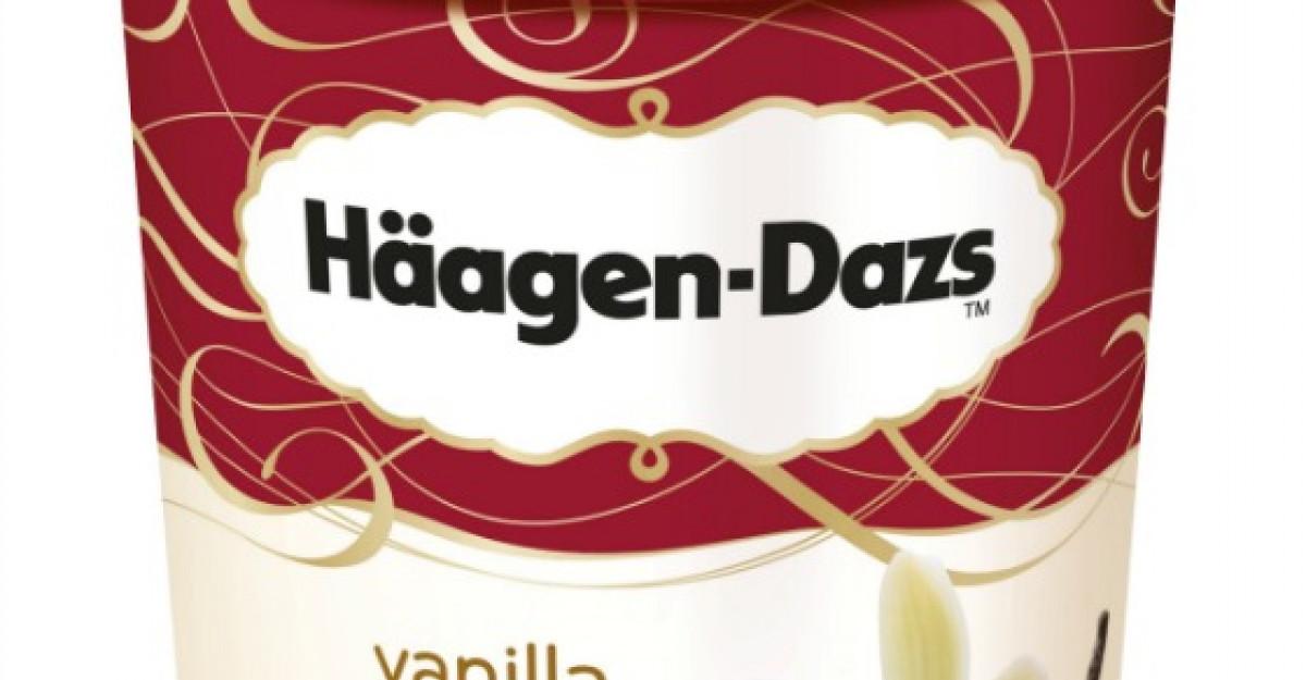 Inghetata Haagen-Dazs in deserturi speciale de iarna