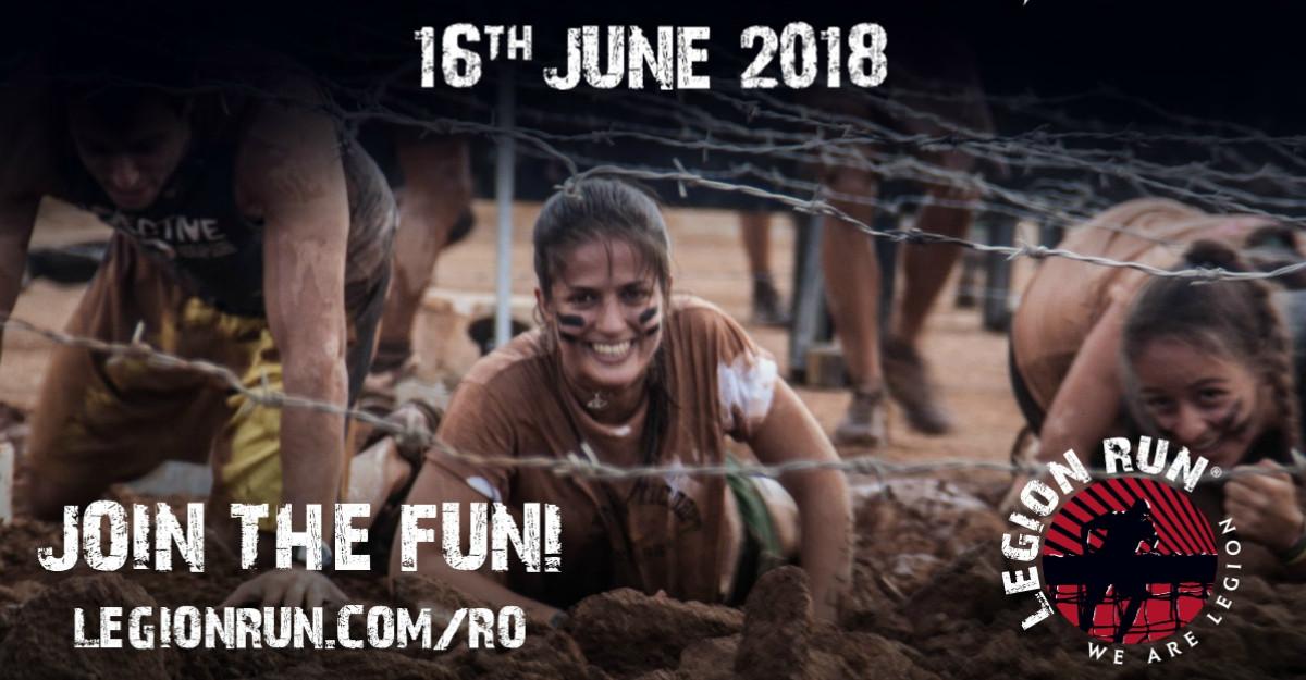 Pe locuri, faceți echipă – Legion Run România 2018!