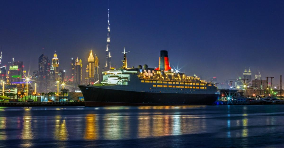 Legendarul vas de croazieră Queen Elizabeth 2 își deschide porțile în Dubai