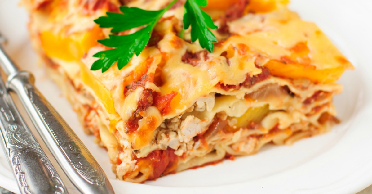 Lasagna cu legume: cea mai buna si usoara reteta
