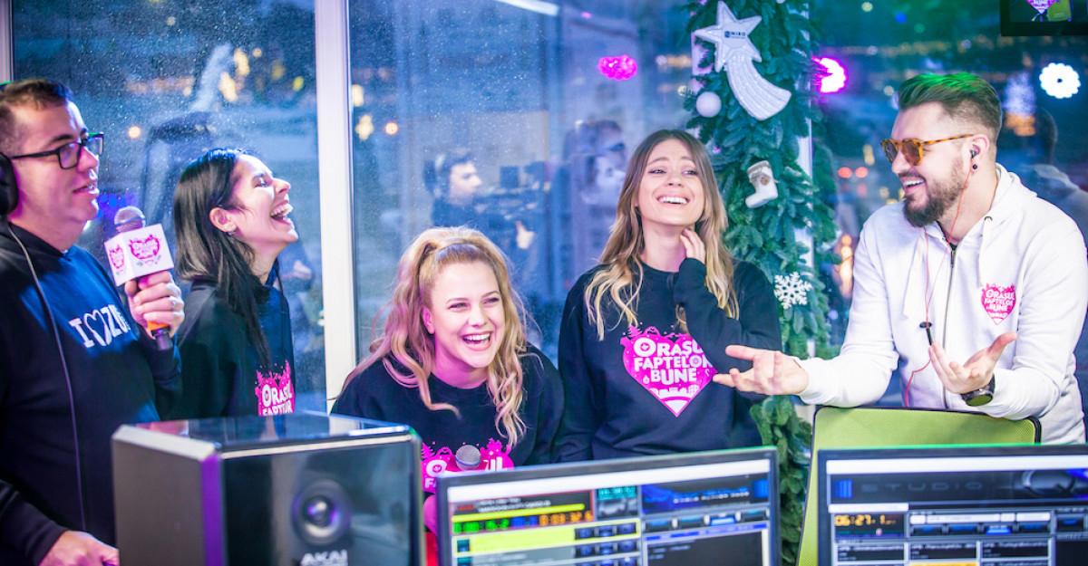 De ce trebuie să fii în Orașul Faptelor Bune 2018 alături de Radio ZU?