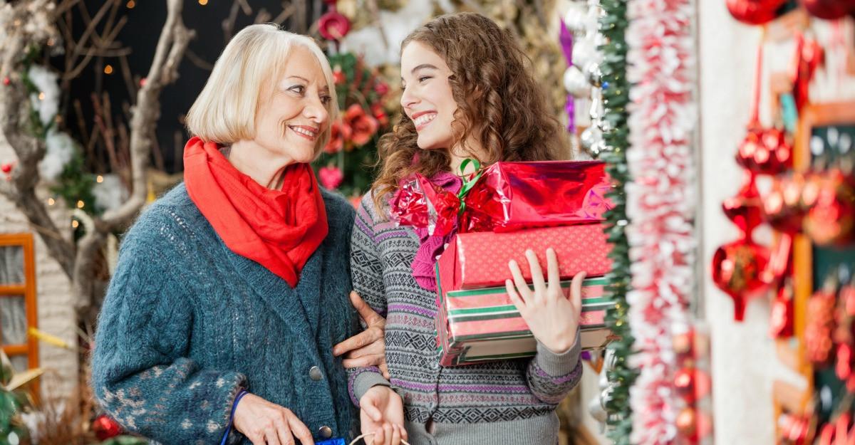 Idei de cadouri de Crăciun pentru mama