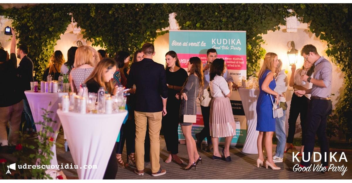 Kudika Good Vibes Party - contaminam lumea cu energie pozitiva
