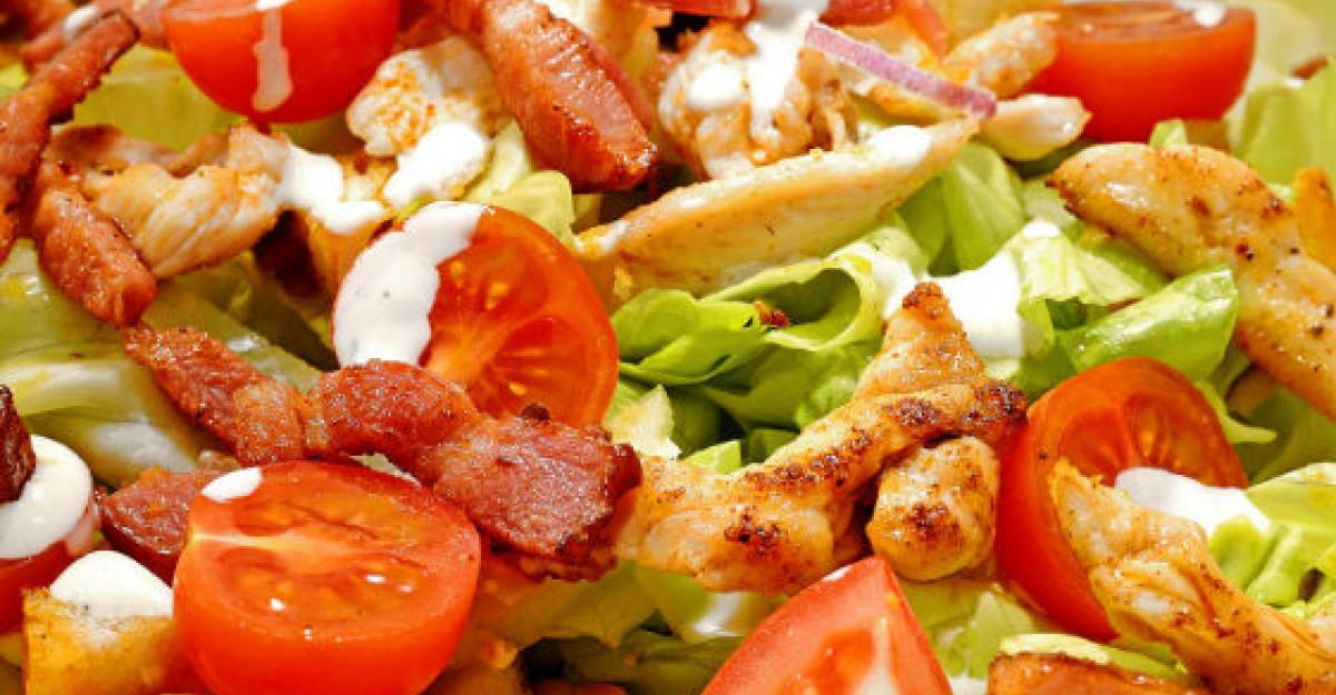 Top 3 salate satioase de vara