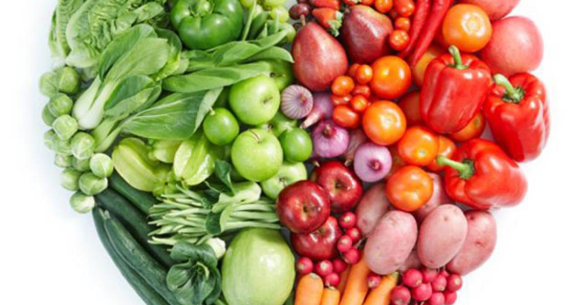 Dieta disociata pe culori: o metoda usoara de slabire