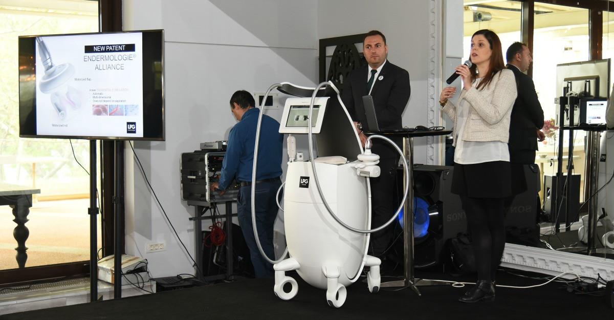 O multime de vedete la lansarea noului aparat pentru slabit LPG Alliance