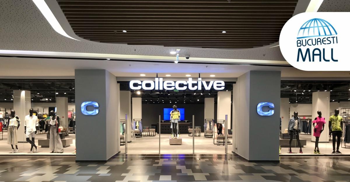 collective și-a redeschis porțile în București Mall