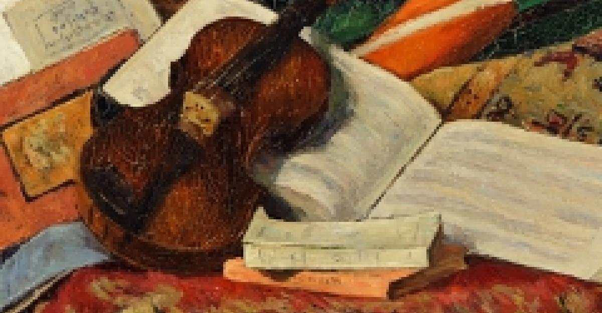 Sub semnul lui Enescu: in septembrie MNAR celebreaza muzica in pictura
