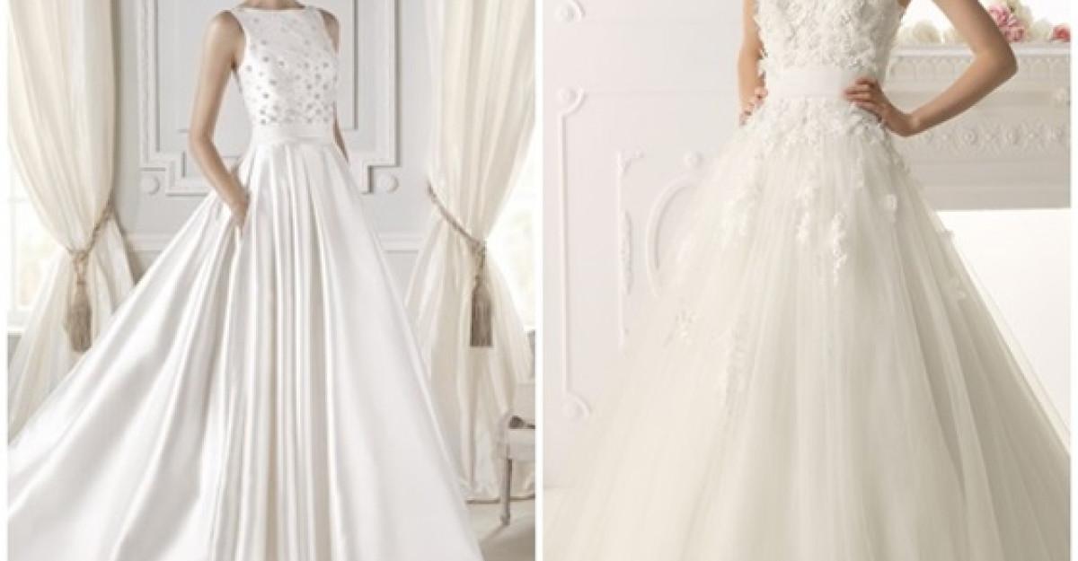 Tendintele pentru rochiile de mireasa in 2015