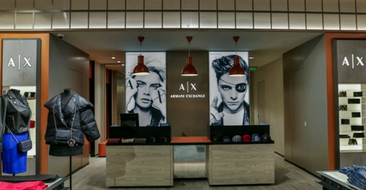 Armani Exchange deschide primul magazin in Bucuresti