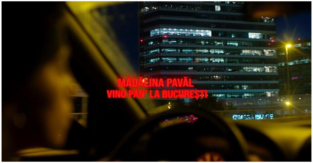 Mădălina Pavăl a lansat pe 26 noiembrie Vino pân' la București, un cântec despre tot felul de începuturi