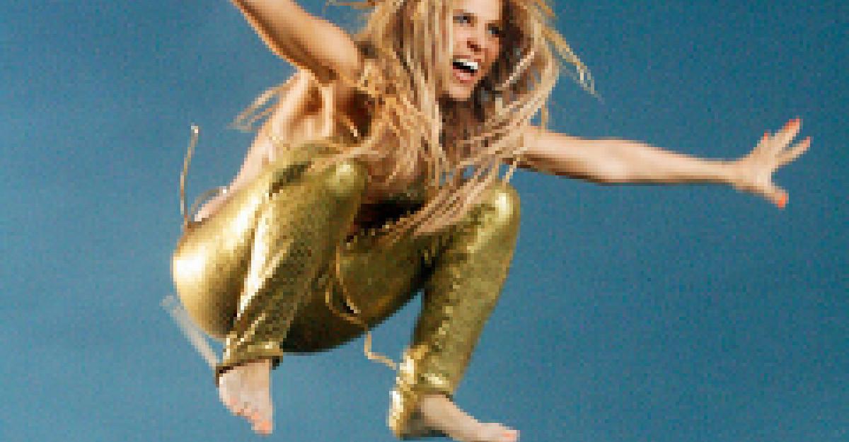 Mai putin de o luna pana la concertul Shakira!