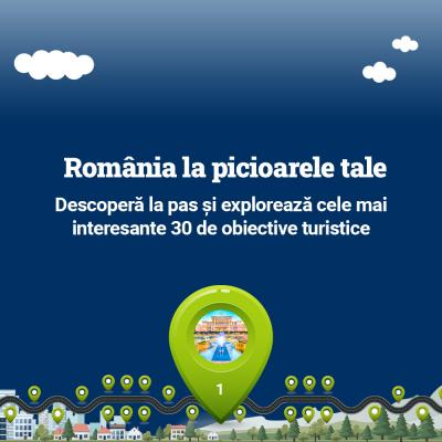 Descopera Romania la pas...virtual!