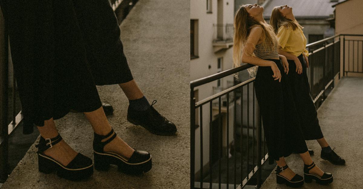 Se poartă din nou pantofii cu talpă groasă de tip Creepers