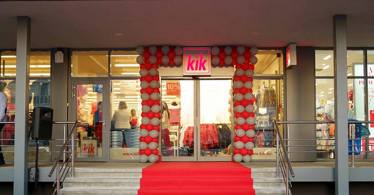 Retailerul de îmbrăcăminte la preț redus din Germania, KiK, deschide primul magazin din București