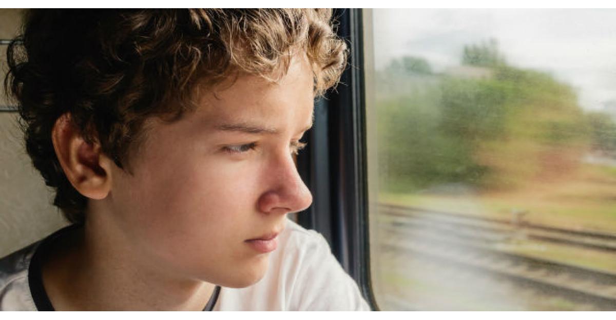 Un copil de 16 ani merge cu tatal sau intr-o calatorie cu trenul
