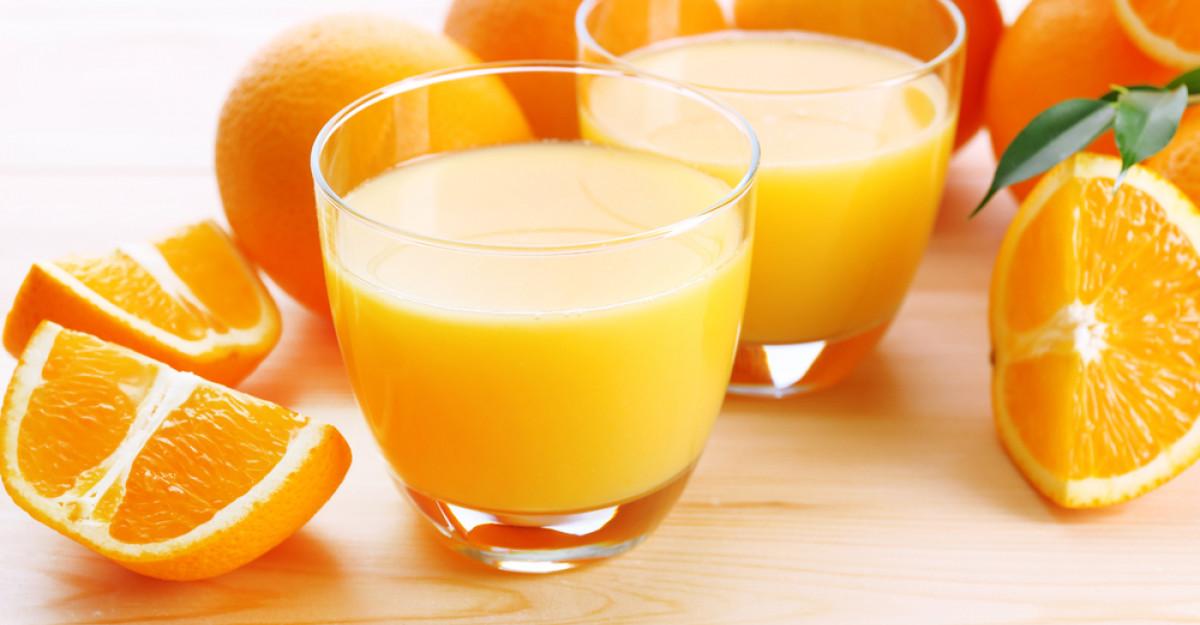 Sucul de portocale: detoxifiere pentru organism