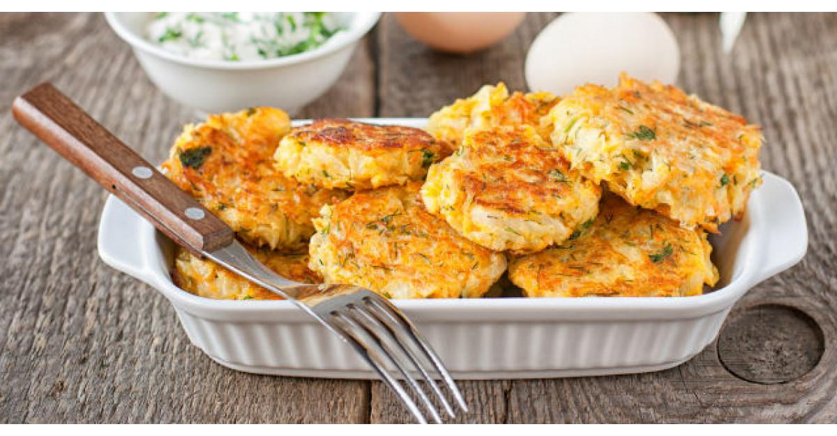 Pentru aceasta reteta de chiftelute de dovlecei lasi pana si cartofii prajiti