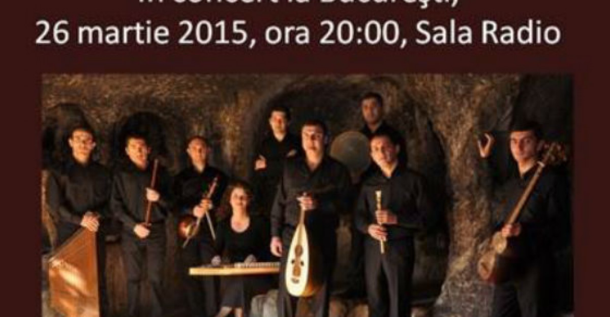 The Gurdjieff Folk Instruments Ensemble concerteaza in Romania