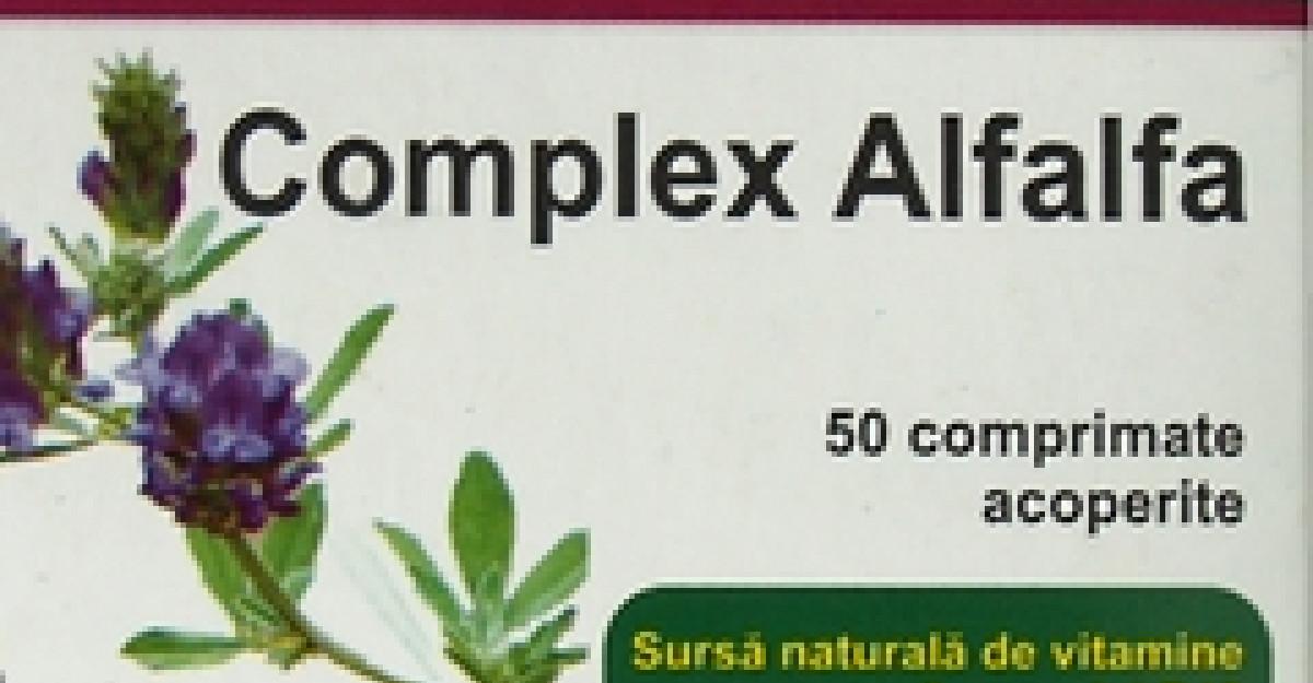 Complexul Alfalfa, un nou produs Hofigal