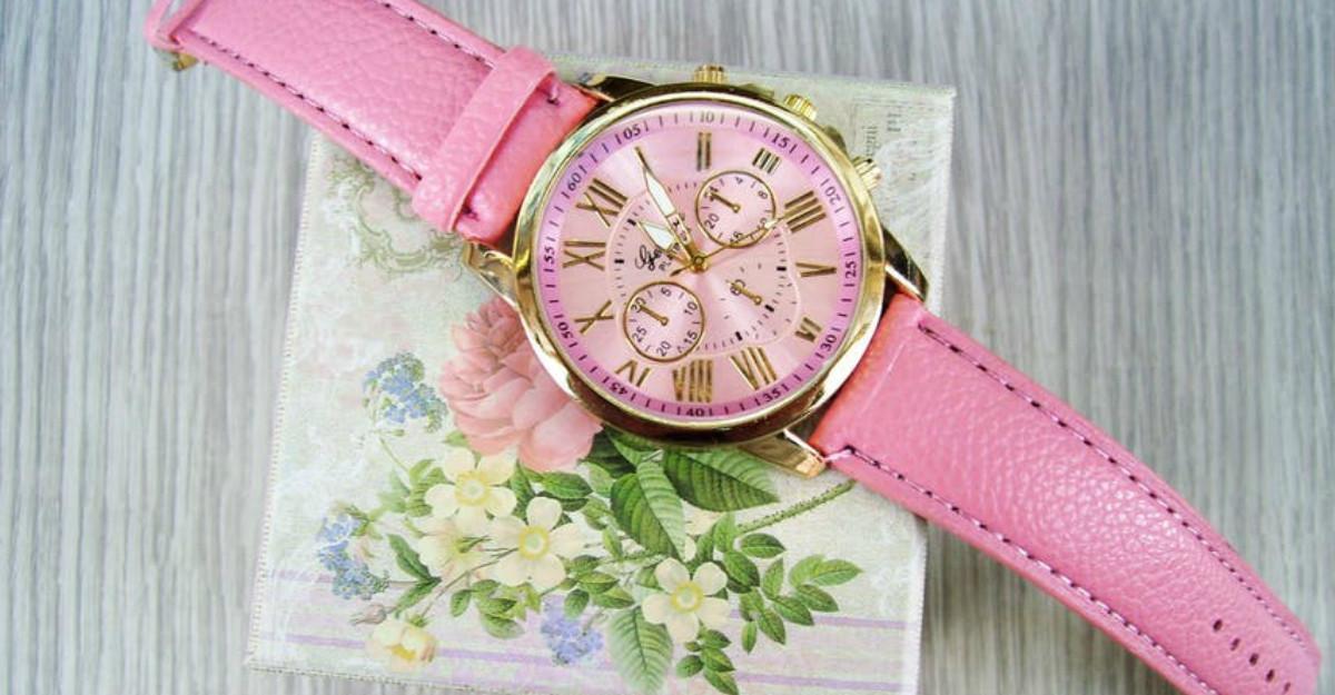 Ceasuri de poveste tip bijuterie cu design si imprimeuri florale: fa-ti toamna mai vesela!