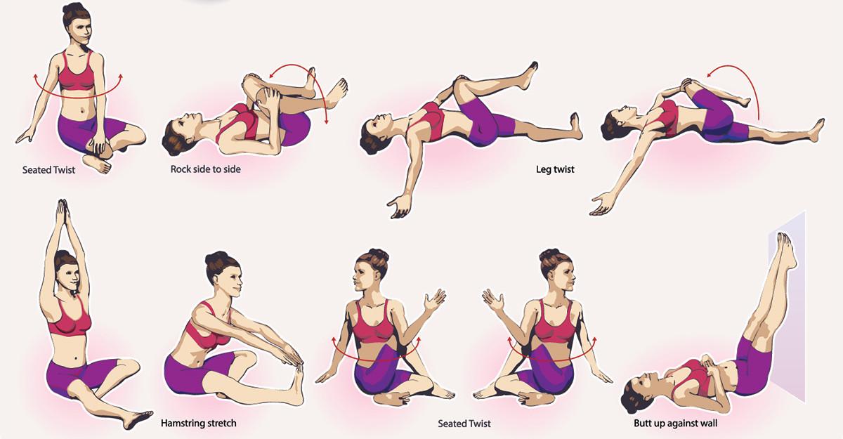 Exerciții KINETOTERAPEUTCE pentru ameliorarea durerilor de spate și postură corectă