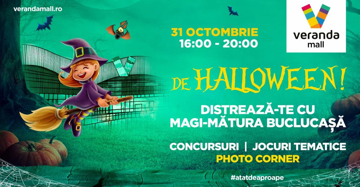 Jocuri și concursuri de Halloween pentru cei mici, la Veranda Mall