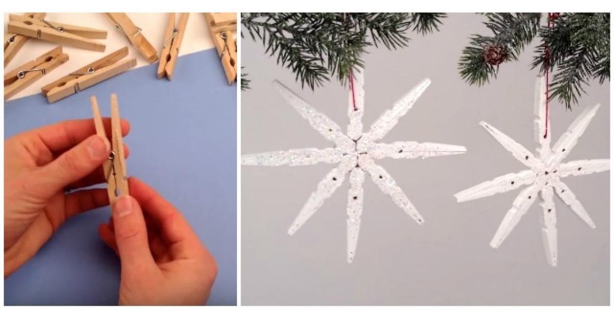 Video: Foloseste clesti de rufe pentru a face o decoratiune minunata de sarbatori