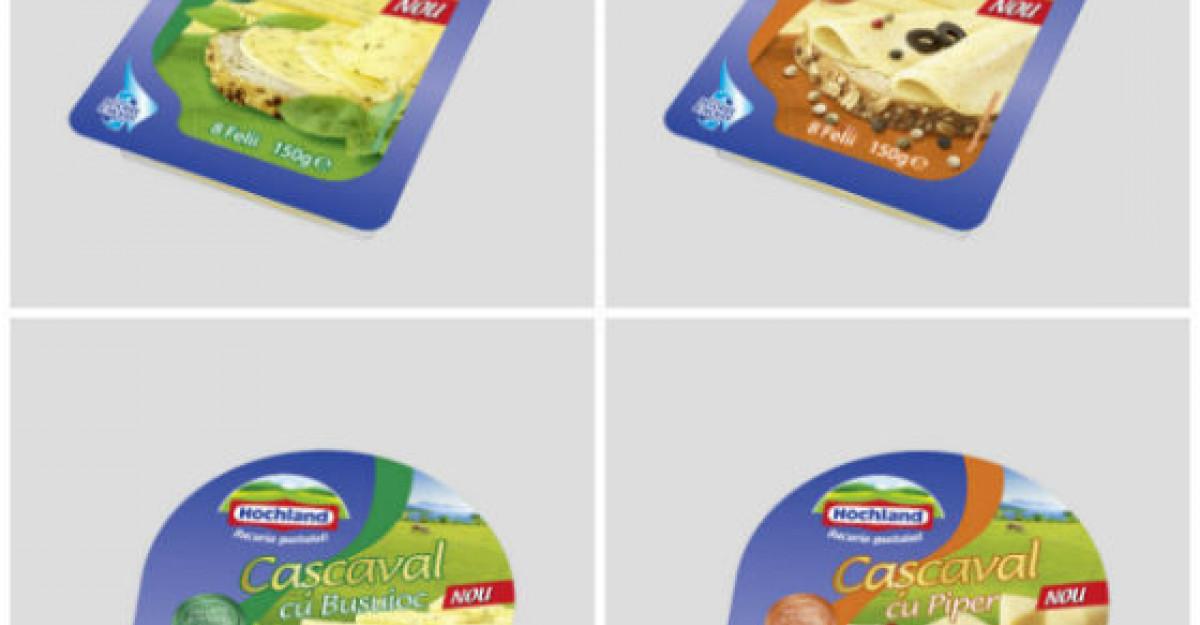 Hochland lanseaza Cascavalul cu Ingrediente, pentru ca tu sa te poţi bucura de o varietate de gusturi in fiecare zi